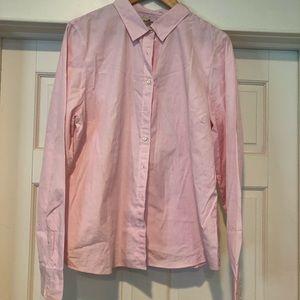 Jcrew Button Down Pin Striped Shirt